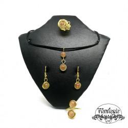 Set bijuterii Citrin