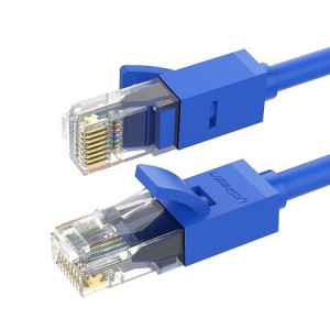 Cablu patchcord Ugreen Ethernet RJ45 Cat 6 UTP 1000Mbps 5 m albastru