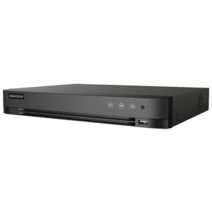 DVR AcuSense 4 ch. video 5MP, Analiza video, AUDIO 'over coaxial' - HIKVISION IDS-7204HUHI-M1-SA