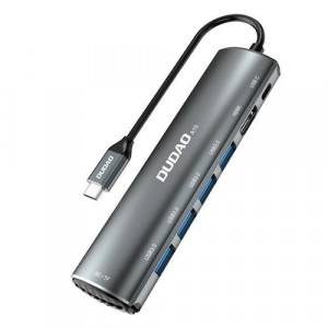 Hub Dudao 8 in 1 USB multifuncțional