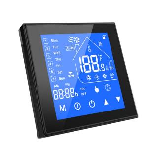 Termostat inteligent WiFi SmartWise, compatibil cu Sonoff - eWeLink, tip 'B' (16A), Negru