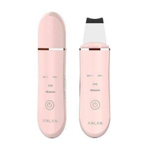 Ultrasonic Skin Scrubber pentru ingrijirea fetei ALCPJ01Y-04 (roz)
