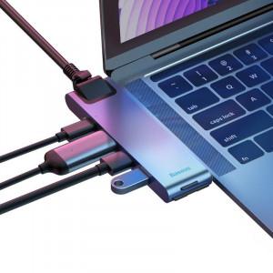 Adaptor Baseus Hub 7in1 pentru MacBook
