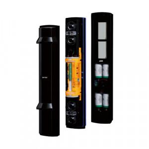 Bariera IR de exterior 100m, 4 fascicule, 4 canale, baterii - OPTEX SL-350QFR