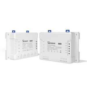 Comutator/Releu inteligent WiFi + RF 433 Sonoff 4CH R3 cu 4 canale