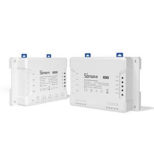 Comutator/Releu inteligent WiFi Sonoff 4CH R3 cu 4 canale