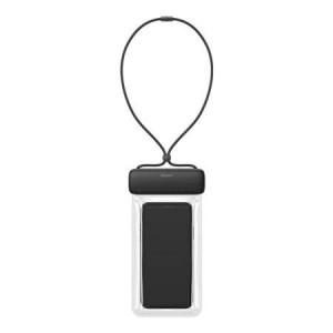 Husa impermeabilă universală Baseus Let's Go pentru smartphone-uri (negru)