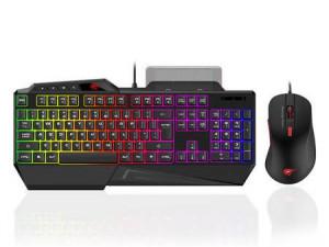 Set Gaming 2 în 1 Havit GAMENOTE KB852CM Tastatură + mouse