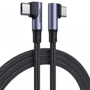 Cablu de date cot Ugreen USB tip C la USB tip C încărcare rapidă 100 W 5A 2 m