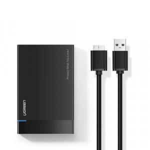 "Carcasă externă HDD / SSD de 2,5 ""UGREEN US221, SATA 3.0, 50cm"