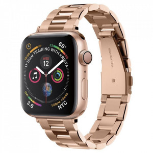 Curea metalica Spigen Modern Fit Band Apple Watch 1/2/3/4/5 (38/40mm) Gold