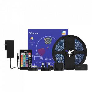 Banda LED inteligenta Wifi-Bluetooth Sonoff L2 RGB (5m)