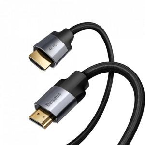Cablu 4K HDMI-HDMI Baseus 1M gri inchis (CAKSX-B0G)
