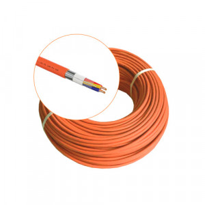 Cablu incendiu JE-H(St)H FE 180 E30/E90, 1x2x08 ecranat, 100m - EuroClass MEK90-2x2x08