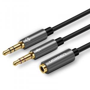 Cablul audio UGREEN de 3 5 mm Negru