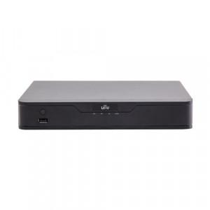 NVR 4 canale 4K + 4 porturi PoE, UltraH.265, Cloud upgrade - UNV NVR301-04X-P4