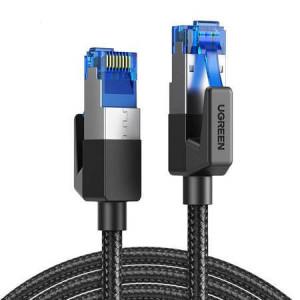 Patchcord UGREEN NW153 Cat 8 F / FTP ecranat RJ45 Cable 5m (negru)