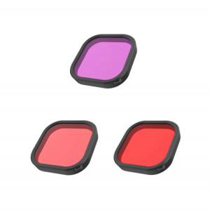 Set filtru rezistent la apă Telesin pentru GoPro Hero 9