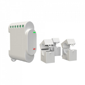 Shelly 3EM Profesional releu wifi 3 canale si control contactor