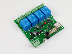SmartWise 5V-32V 4 canale Comutator de releu inteligent Wi-Fi + RF