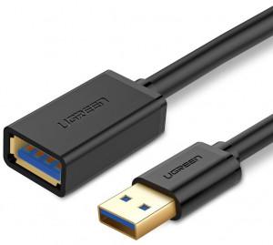 Cablu de extensie USB 3.0 UGREEN 3m - negru