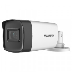 Camera AnalogHD 5MP, lentila 3.6mm, IR 80m - HIKVISION DS-2CE17H0T-IT5F-3.6mm