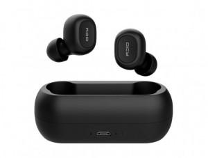 Căști fără fir Bluetooth 5.0 QCY T1C TWS (negre)