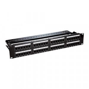 Patch Panel 2U, UTP cat6, 48 porturi RJ45 - ASYTECH Networking ASY-PP-UTP6-48