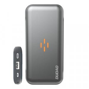 Power bank DUDAO de 10000 mah si cu incarcare wireless negru