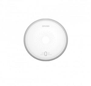 Senzor detector fum Smart ORVIBO, control de pe smartphone, Wi-Fi, Zig