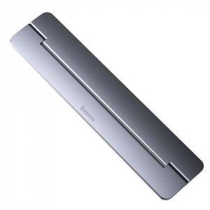 Suport/Stand laptop Baseus din aluminiu cu autoadeziv - gri