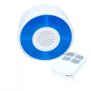 Sirena RF SmartWise cu telecomanda compatibila Sonoff