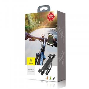 Suport pentru biciclete Baseus Miracle pentru telefoane - negru