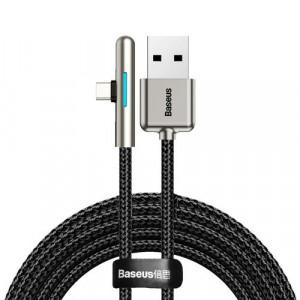 Cablu cot USB tip C 4A 40W Huawei Super Charge 2m negru
