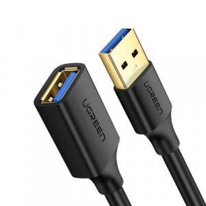 Cablu de extensie USB 3.0 (mama) USB 3.0 (tata) - 2 m negru Ugreen