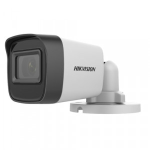 Camera AnalogHD 4 in 1, 5MP, lentila 2.8mm, IR 25m - HIKVISION DS-2CE16H0T-ITPF-2.8mm
