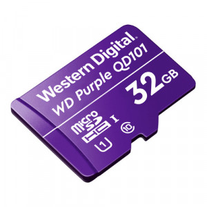Card MicroSD 32GB, seria Purple Ultra Endurance - Western Digital WDD032G1P0C