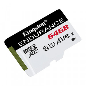 Card MicroSD 64GB, seria Endurance - Kingston SDCE-64GB
