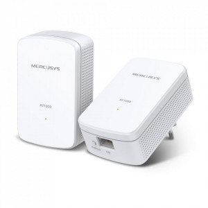 Kit Starter Powerline Gigabit AV1000 Mercusys 1000 Mbps