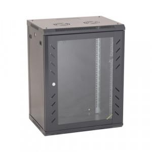 Rack perete 15U 19' 600x450, negru - ASYTECH Networking ASY-15U-6045W