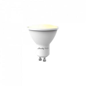 Shelly Duo (GU10) Bec inteligent de culoare albă cu reglarea temperaturii