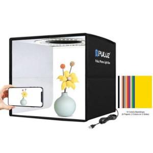 Studio foto Puluz LED 25cm PU5025B
