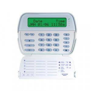 Tastatura LCD cu caractere alfanumerice + modul receptor radio - DSC