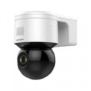 Camera IP Mini PTZ, 4.0 MP, zoom optic 4X, IR 50M, Audio, Flash - HIKVISION DS-2DE3A404IW-DE