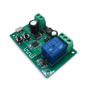 Comutator de releu inteligent pentru garaj WiFi 1 canal compatibil cu Sonoff