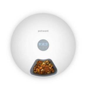 Distribuitor inteligent de alimente PetWant F6 cu 6 compartimente