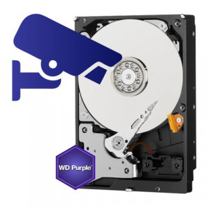 Hard disk 6TB - WD PURPLE Surveillance