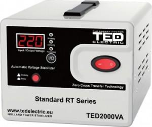 Stabilizator retea maxim 2000VA-AVR TG-1003.01220New TED2000