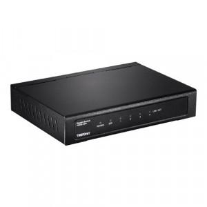 Switch 4 porturi Gigabit , 1 slot SFP - TRENDnet TEG-S51SFP