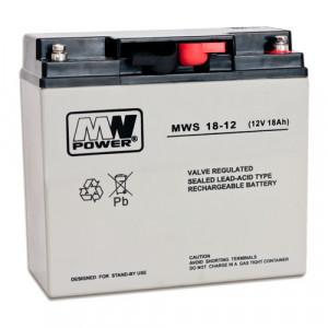 Acumulator 12V, 18Ah - MWS